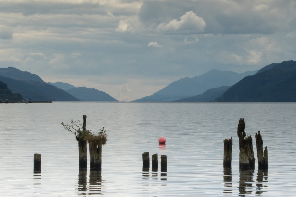 View of Loch Ness from Dores beach