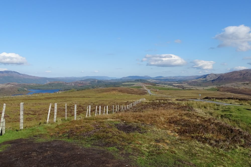 View from Suidhe Viewpoint in Summer