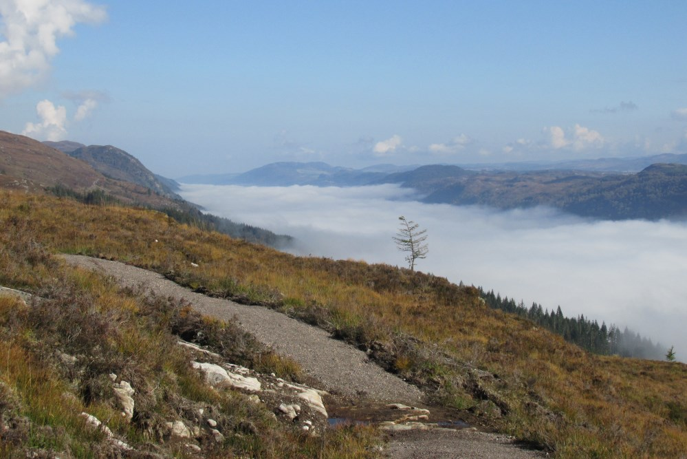 The Great Glen Way high route, part of the Loch Ness 360° Trail