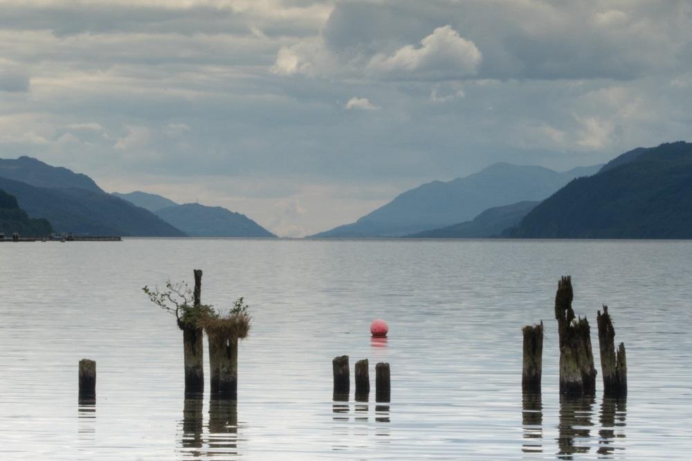 Dores beach on Loch Ness