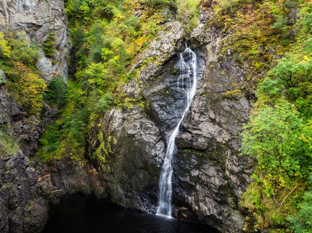 The Falls of Foyer in the Autumn