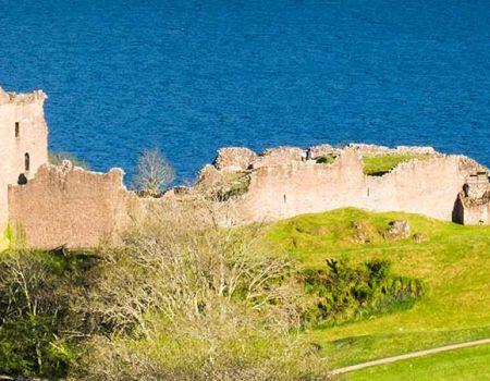 Castle Urquhart by Loch Ness