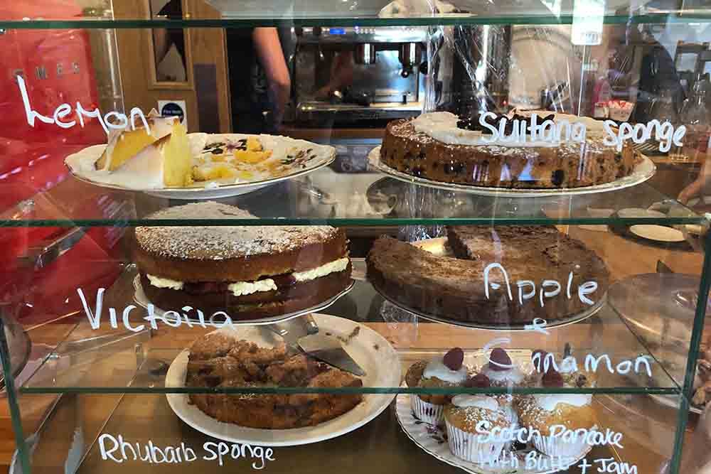 Cakes at at Camerons Tea Room