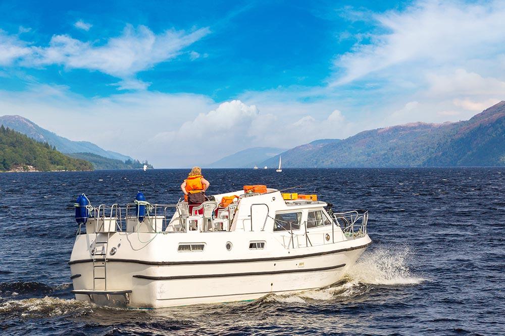 a loch ness boat