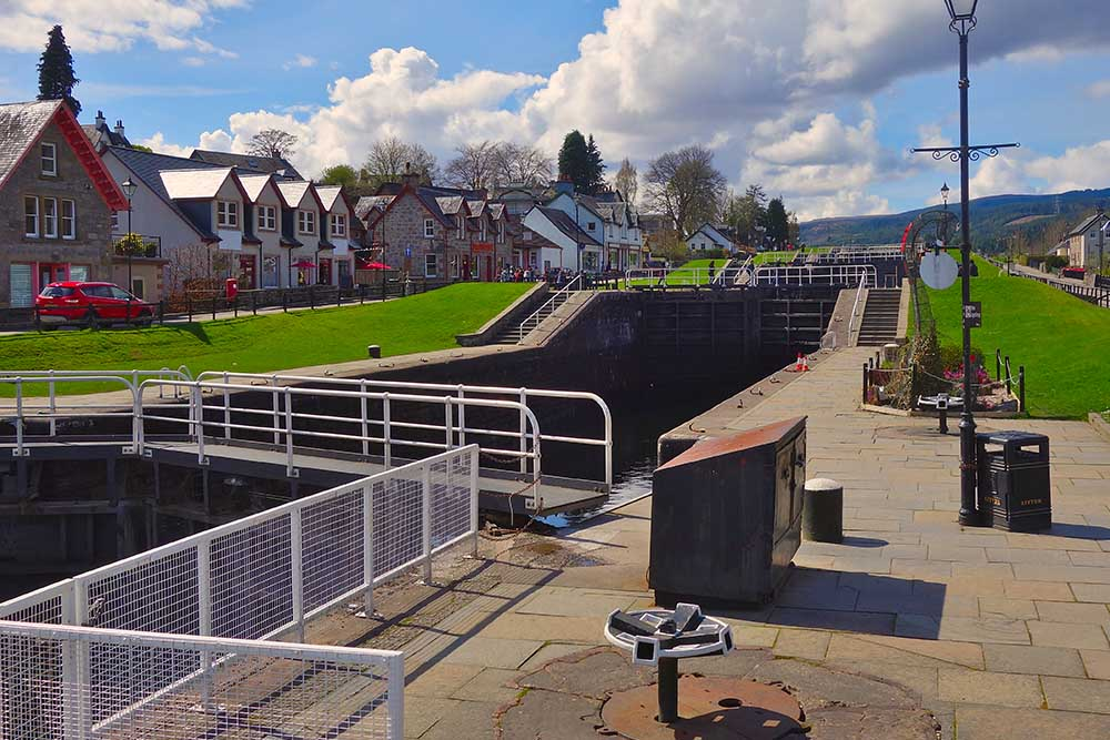 Fort Augustus and The Caledonian Canal