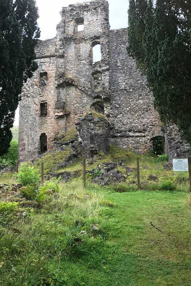 Glengarry Castle on the Great Glen Way